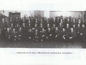 Versammlung im Haus Schetter